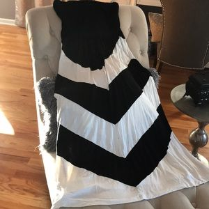 Size Small strapless maxi dress